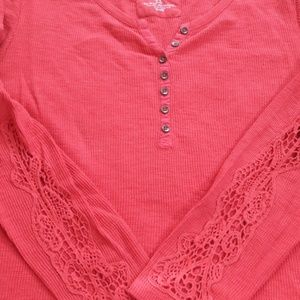 XL Red Sonoma Long Sleeved Tee